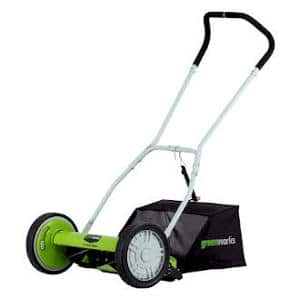 best reel lawn mowers